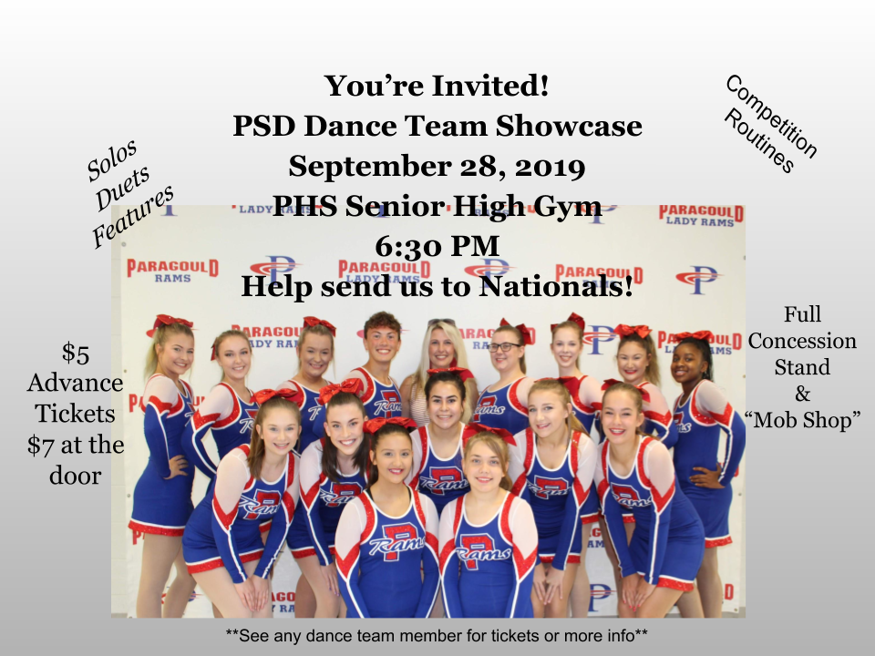 PHS Dance Team Showcase