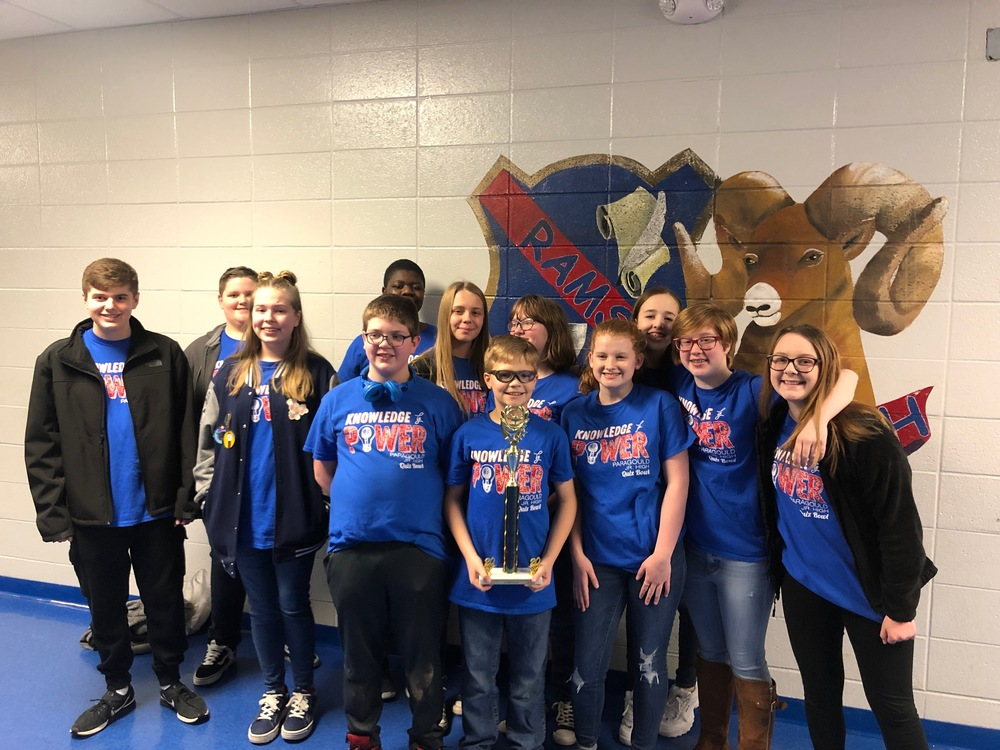 PJHS Quiz Bowl Wins Regionals