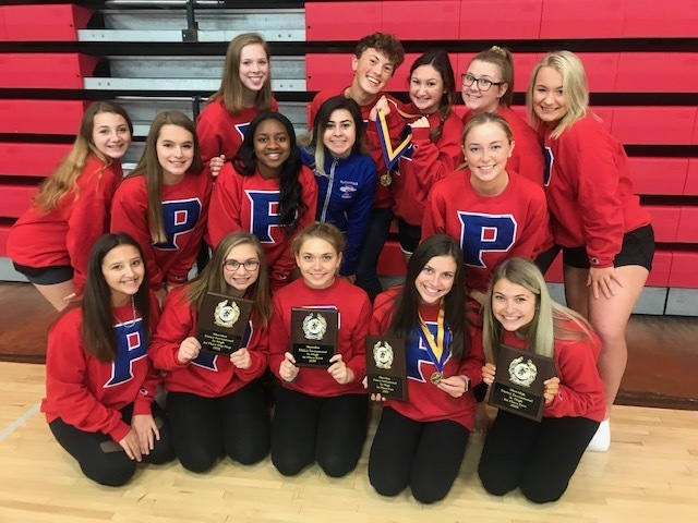Dance Team Sweeps Competition