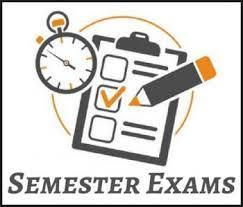 Semester Test Schedule/Exemption Policies