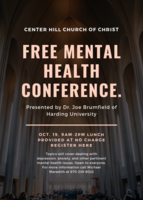 Free Mental Health Conference open to families and educators alike. Scroll to the bottom for the link to register