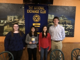 Exchange Club Finalist