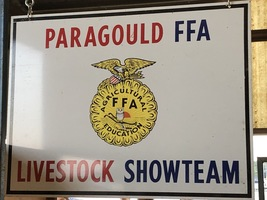 PHS FFA Team Show at Greene County Fair