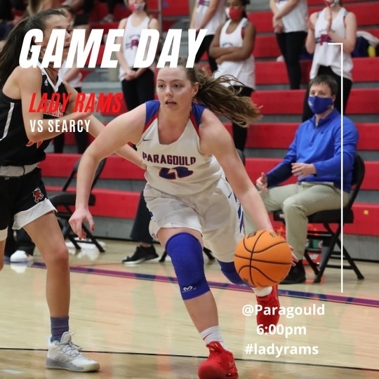 Lady Rams vs Searcy 6pm.