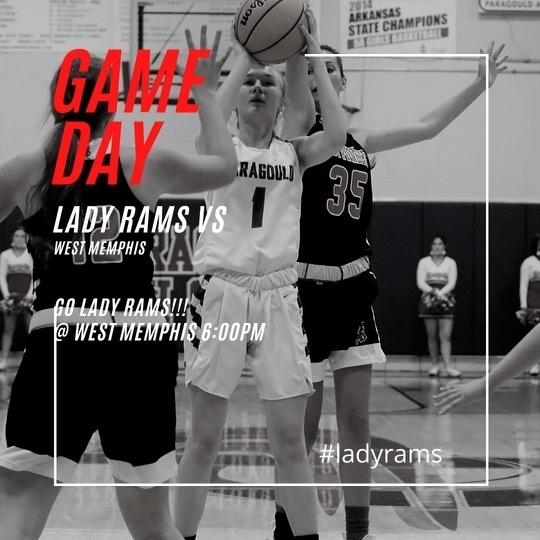Game day !!! Lady Rams at west memphis