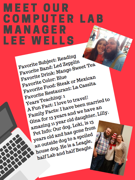 Computer Lab Manager Lee Wells