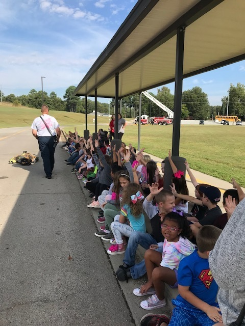 Listening about fire safety