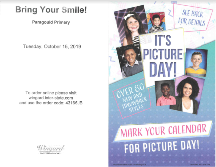 Picture Day Flyer