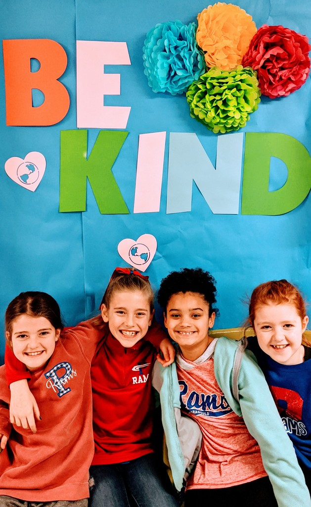 3rd Graders Celebrating Kindness Week