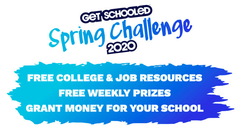 Spring Challenge with Free College/Job Resources